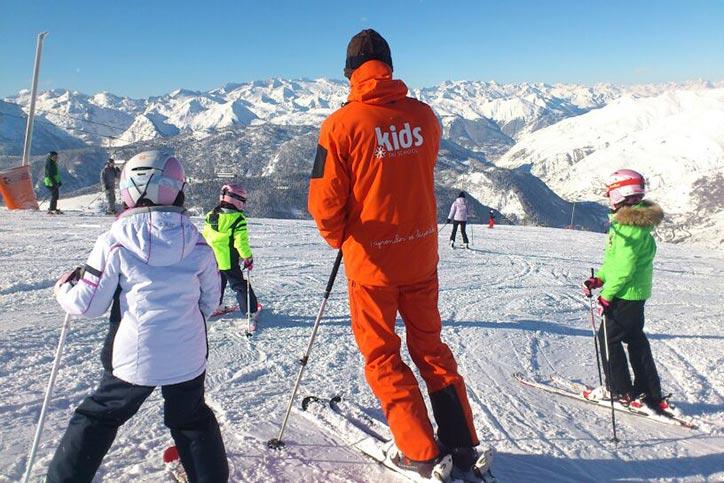 TEmporada de esquí en Baqueira Beret
