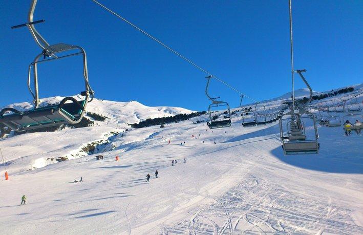 Iniciarse al esquí en Baqueira Beret