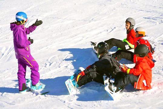 Escuela de snowboard en Baqueira Beret