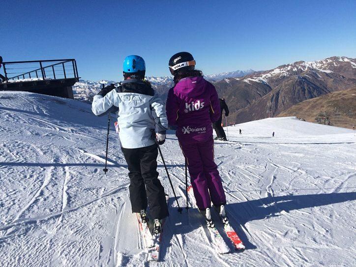 aprender esqui Baqueira