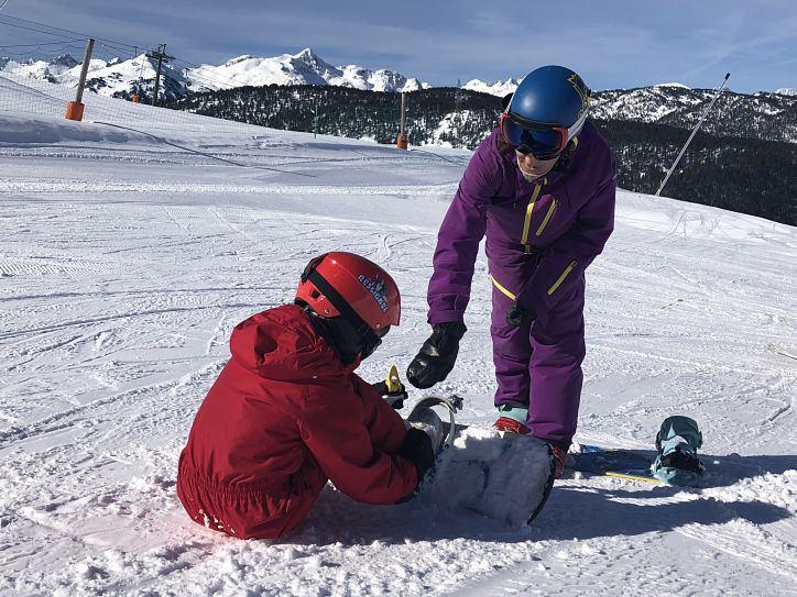 aprender snow