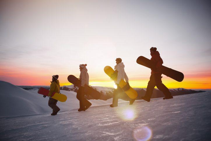 como aprender snowboard