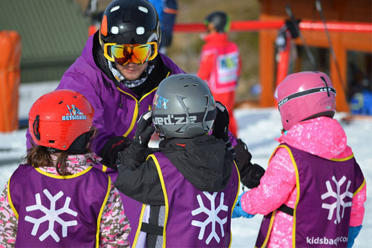 curso esqui niños